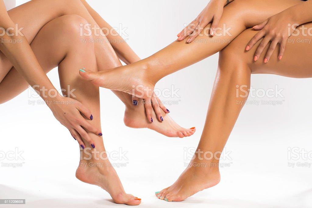 Foot lesbian videos