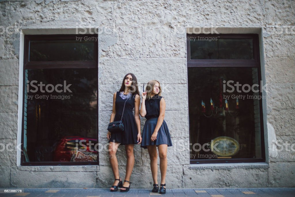 two girls HD foto stock royalty-free