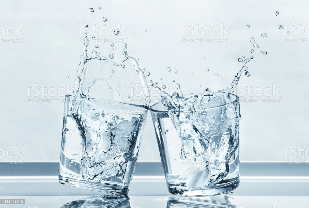 Two glasses. - foto stock