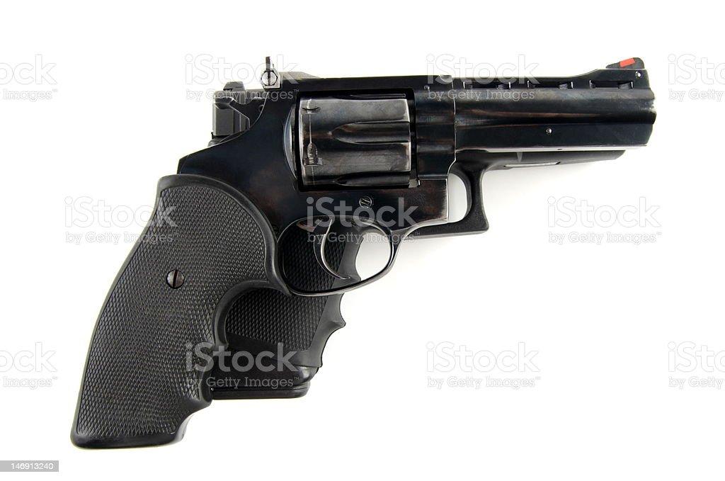 Two guns. stock photo
