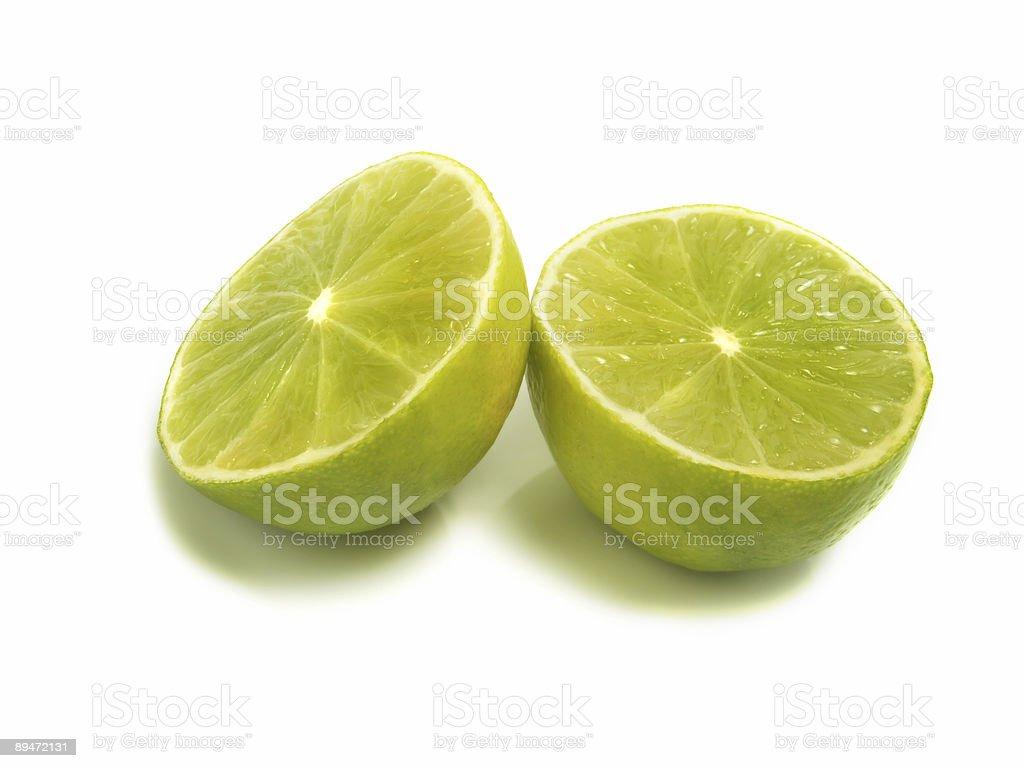 Zwei kleine limes Lizenzfreies stock-foto