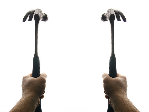 Two Hammers stock photo