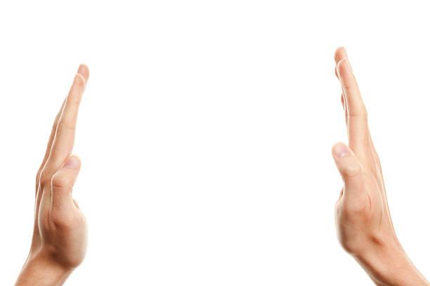 Zwei Hände – Foto