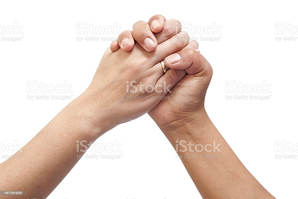 two hands joined together stock photo more pictures of concepts