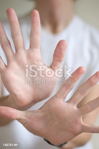 istock Two Hands. 146761481