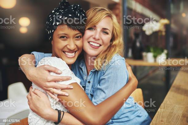 Two happy affectionate young woman hugging picture id491470754?b=1&k=6&m=491470754&s=612x612&h=k2nmknm3pj qj1k66g  xgzzq1d 0yuynt9oeougkis=