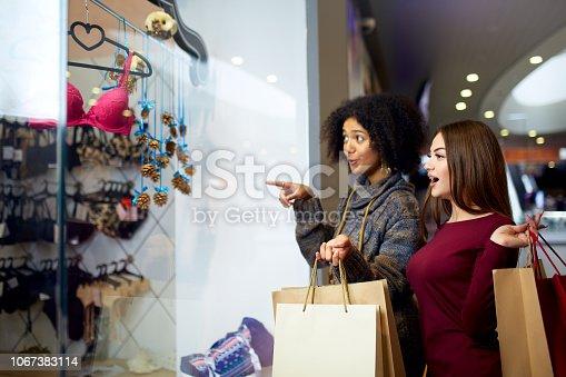 5fdbd3c26f1e ᐈ Imagen de Mujer de raza mixta joven chic feliz dos de las compras ...