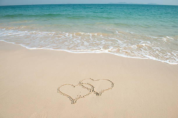 Royalty Free Heart Sand Pictures Images and Stock Photos