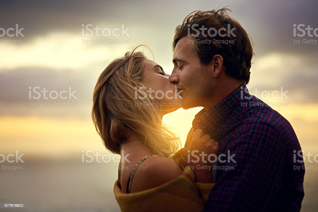 Two hearts, one love stock photo