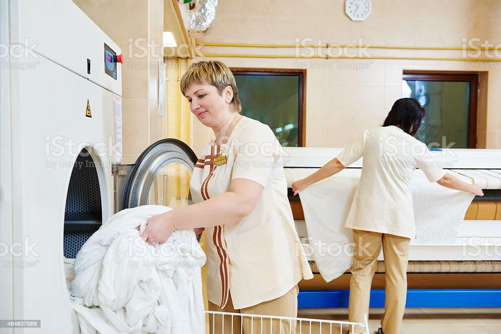 Hotel Leinen Waschen service – Foto