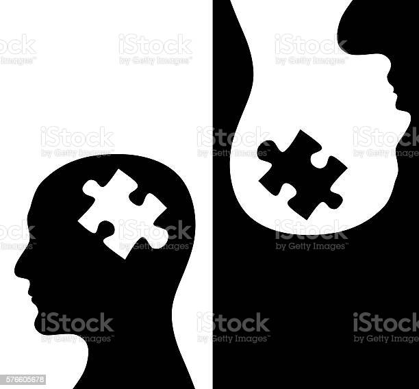 Two humans profiles of white and black colors picture id576605678?b=1&k=6&m=576605678&s=612x612&h=ca591jnc8jnvxie5xhayw3itrfq9m39why izodcoq0=