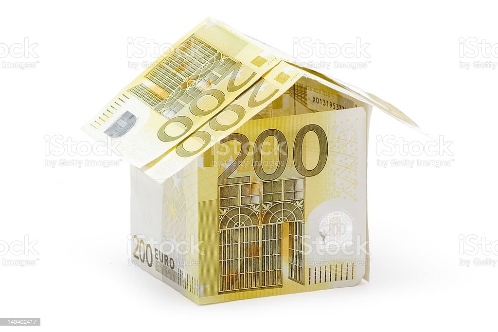 Two Hundred Euro Cottage royalty-free stock photo