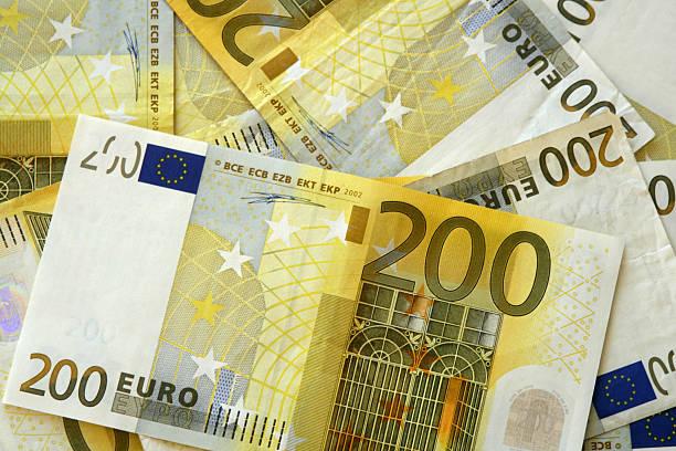 De dos cientos euros - foto de stock