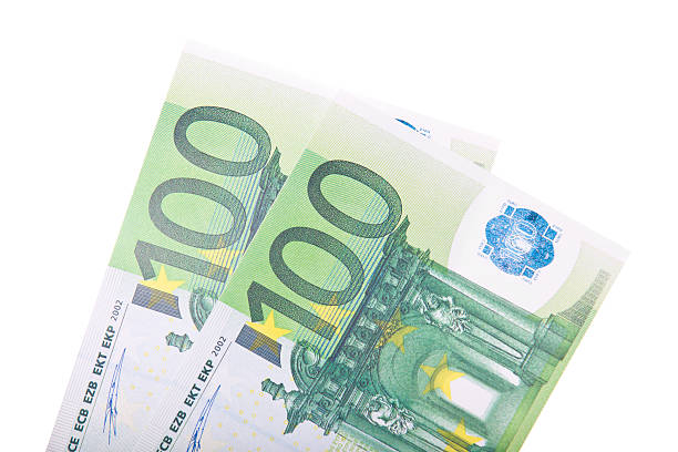 Dos cientos euros - foto de stock
