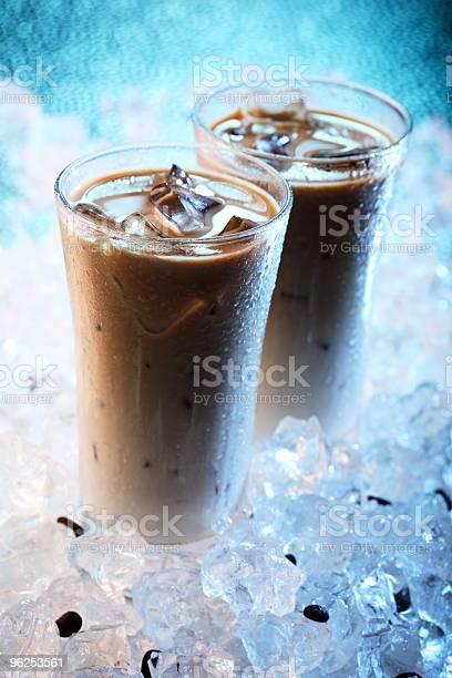 Foto de Café Gelado e mais fotos de stock de Azul