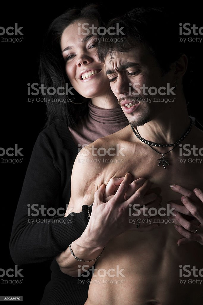 Two in love royalty-free stock photo