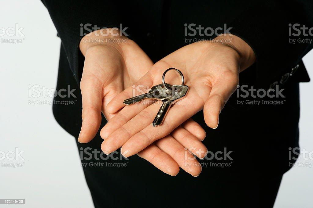 Two Keys royalty-free stock photo