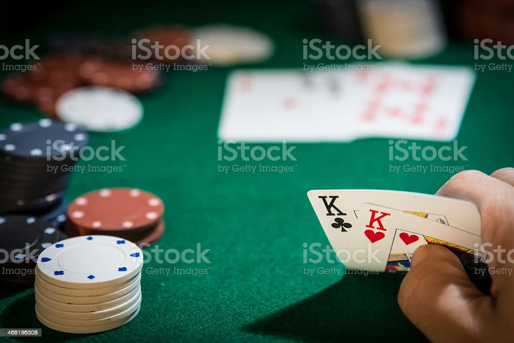 Two Kings For The Poker Hand Stock Photo Download Image Now Istock