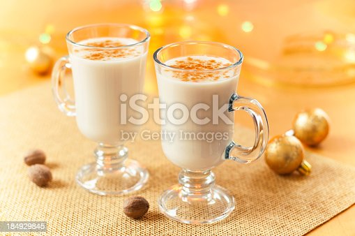 Eggnog at Christmas Time.