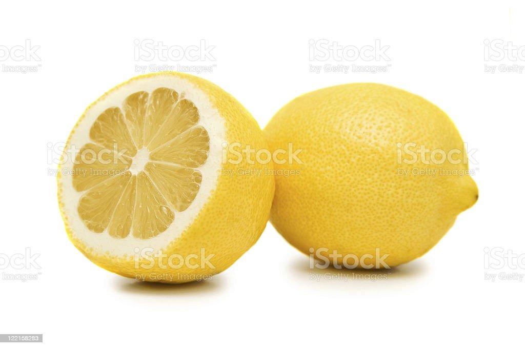 Два lemons стоковое фото
