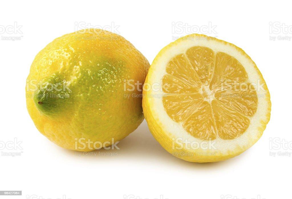 두 레몬 royalty-free 스톡 사진