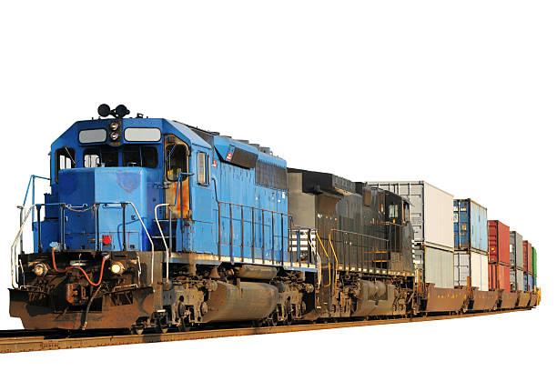 zwei lokomotiven isoliert - lokomotive stock-fotos und bilder