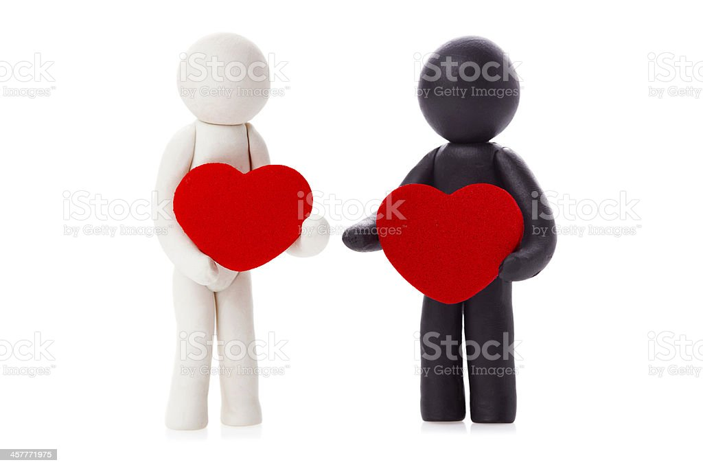two lovers royalty-free stock photo