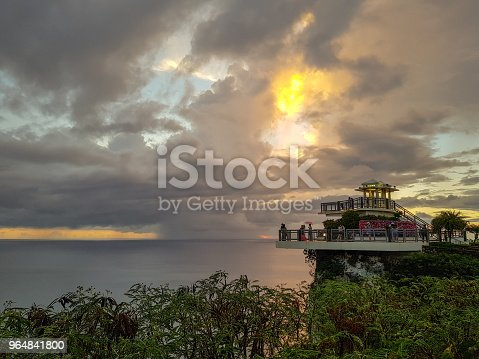 Two Lovers Point Beautiful Sunset Guam In Usa Stock Photo & More Pictures of Architecture