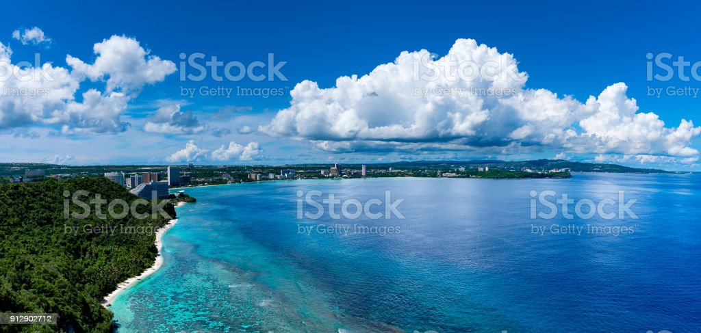 Two lovers point in Guam Two lovers point in Guam Awe Stock Photo