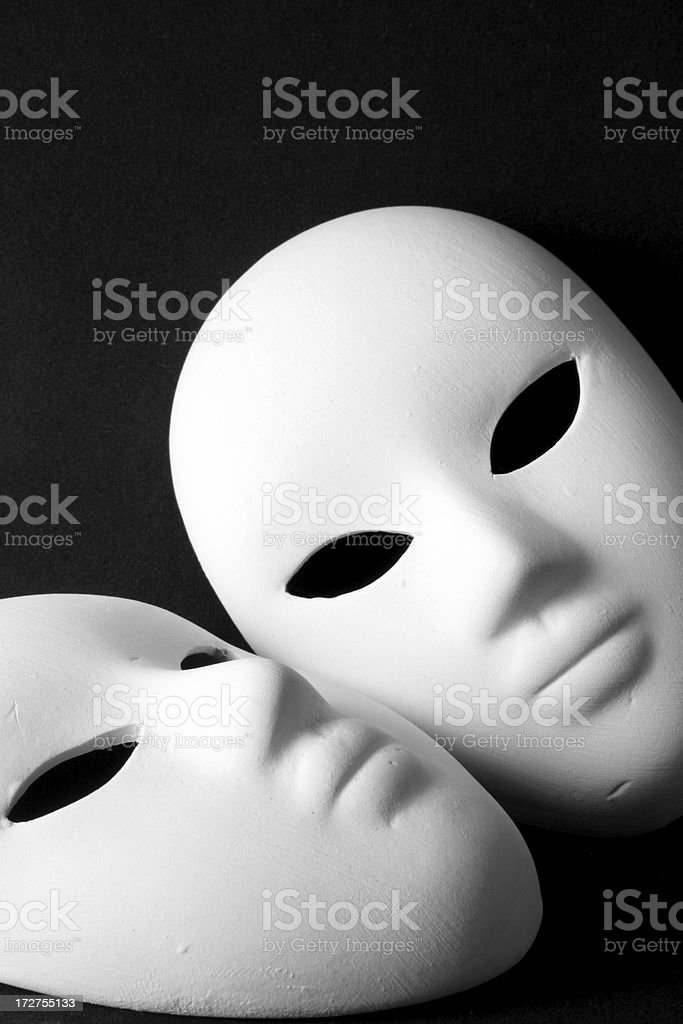 two masks stock photo more pictures of art istock