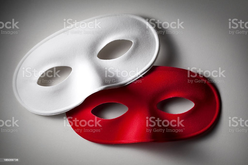 Two masks royalty-free stock photo