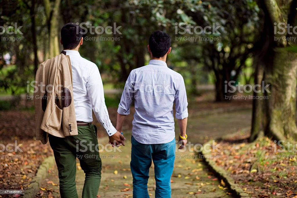 Two men gays stock photo
