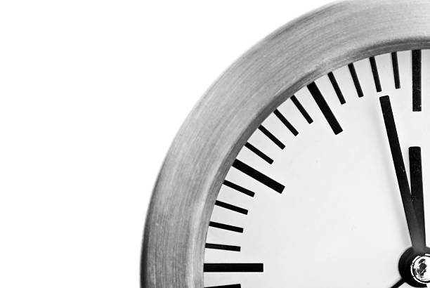 two minutes to midnight - two objects stock photos and pictures