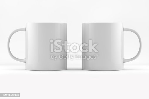 Two Coffee cup ready for branding