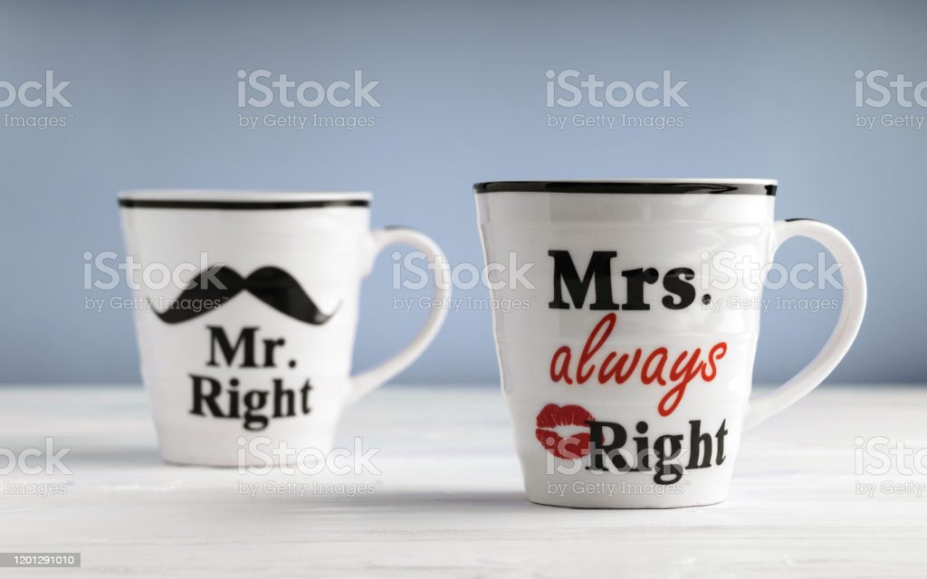 Mrs Always Right Printed Mug