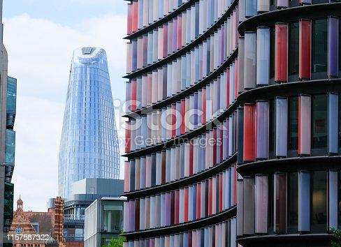 1157587322 istock photo Two New Ludgate & One Blackfriars, the changing skyline of London 1157587322