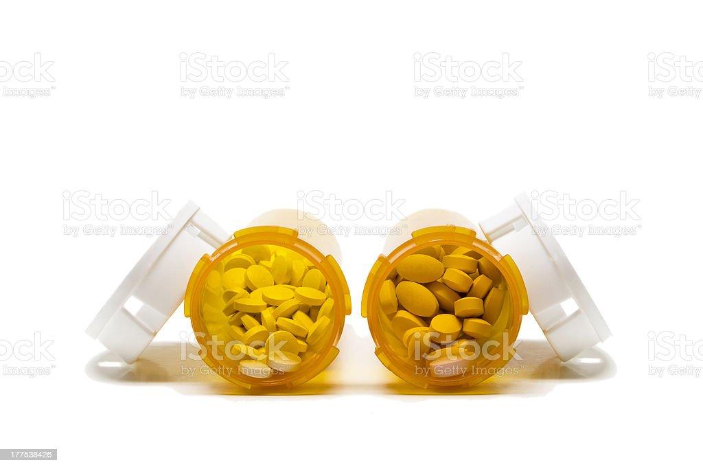 Two Open Prescriptions stock photo