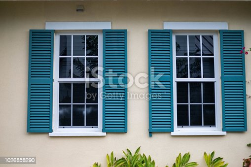 Windows on a home