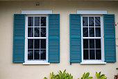 Windows on a home