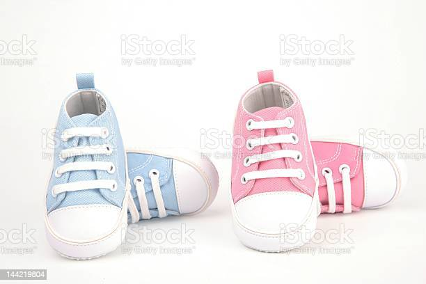 Two pairs of baby shoes one pair blue and one pair pink picture id144219804?b=1&k=6&m=144219804&s=612x612&h=tle0chi4vgjbqaixh1kjeqkcbmbdyba12qaaxp7wul0=
