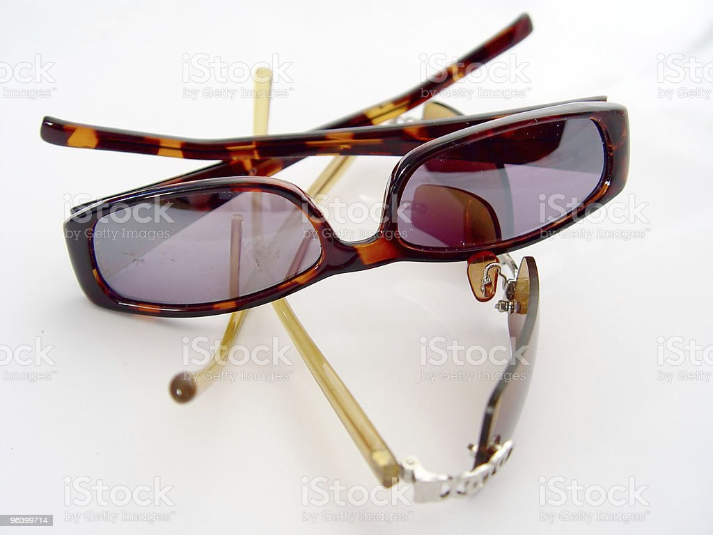Two Pairs of Sunglasses - Royalty-free Abstract Stock Photo