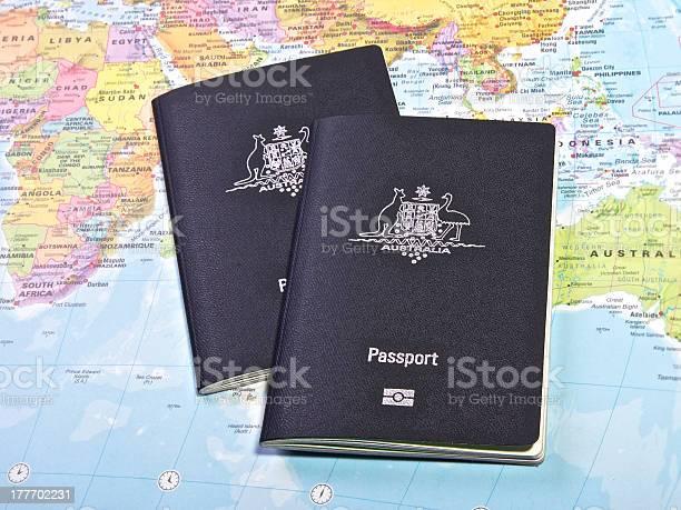 Two passport on a map of the world picture id177702231?b=1&k=6&m=177702231&s=612x612&h=xutaayni6ifrotabqs hhzqqdjuhjab3gqqc4fbnoio=