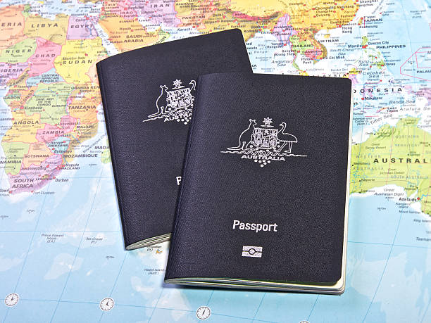 Pasaporte - foto de stock