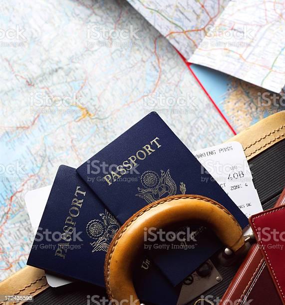 Two passports and airline boarding pass on piece of luggage picture id172435393?b=1&k=6&m=172435393&s=612x612&h=1wy9tbscod6p8d ai7zjwswqlvg8e1o ezg0rjhurdg=