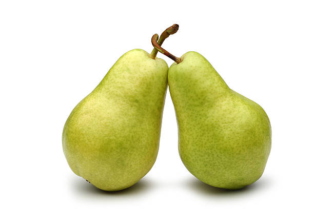 Two Pears stock photo