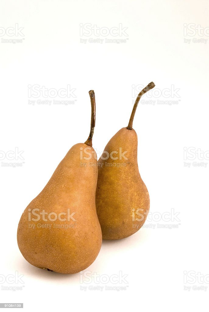 Two Pears Resting stock photo