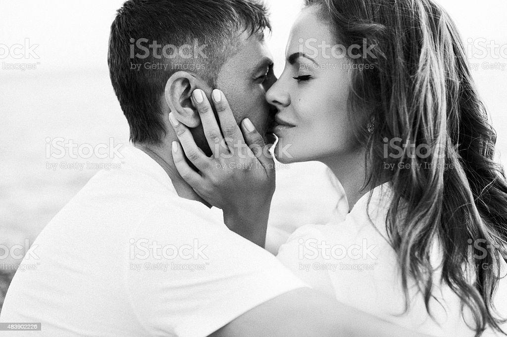 Deux personnes en amour - Photo