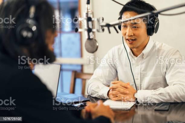 Two people making talkshow for radio picture id1076725102?b=1&k=6&m=1076725102&s=612x612&h=zasgwuf m06fwykt1 rdf0qruvdfn4u477hqwsgylhq=