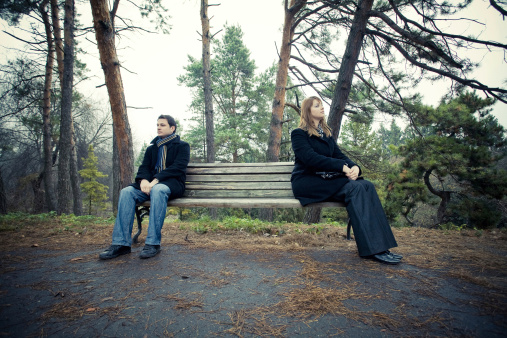 Two people outdoors