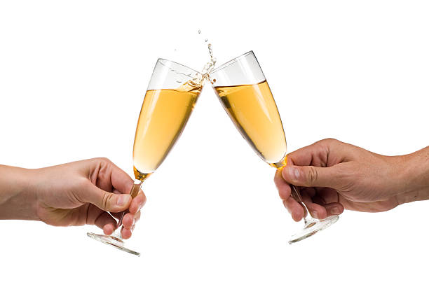 Champagner-toast – Foto